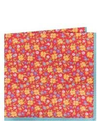London floral cotton silk pocket square medium 4380181