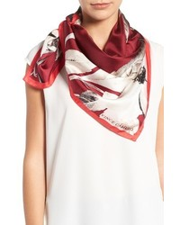 Floating florals square silk scarf medium 3655213