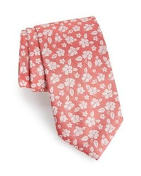 Southern Tide East Bay Hibiscus Silk Tie