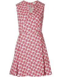 Suno flared floral dress medium 417937