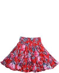 Imoga Hana Floral Print Skirt Rose 2 3