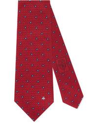 Gucci Floral Jacquard Silk Tie