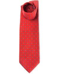 Marinella Vintage Floral Print Tie