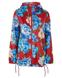 adidas Originals Floral Windbreaker Jacket
