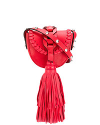 RED Valentino Fringed Detail Mini Bag
