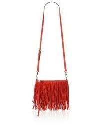 Rebecca Minkoff Finn Fringe Leather Crossbody Bag