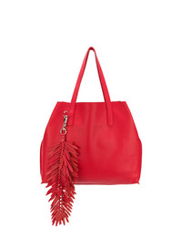 P.A.R.O.S.H. Fringed Oversized Shopping Bag