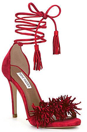 787a5926ef0 Sassey Fringe Sandals