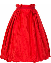 Taffeta midi skirt medium 6988464