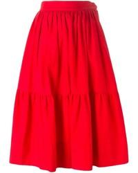Yves vintage midi peasant skirt medium 339250