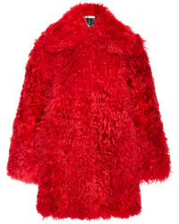 Red Fur Coat