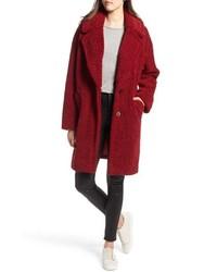 Kendall & Kylie Faux Fur Teddy Coat