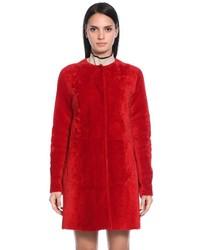 Reversible shearling coat medium 5374765