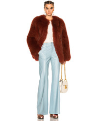 Zeynep Arcay Short Fox Fur Coat