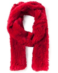 Liska rabbit fur scarf medium 320155