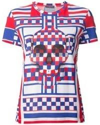 Alexander McQueen Geometric Print T Shirt