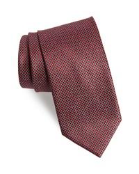 Brioni Check Silk Tie