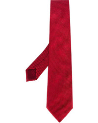 Brioni Micro Geometric Pattern Tie