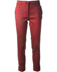 Etro medallion print tapered trouser medium 73902
