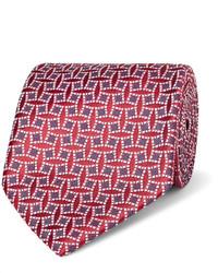 Charvet 85cm Silk Jacquard Tie