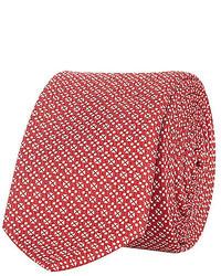 River Island Red Geometric Print Tie