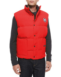 Canada Goose hats replica shop - How To Wear A Puffer Vest: 4 Ways To Style A Down Vest | Men's Fashion