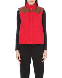 Maje Gorky Quilted Gilet