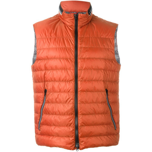 new product ae5c3 578e7 $225, Fay Padded Zip Gilet Red