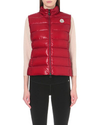 Moncler Quilted Woven Gilet