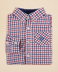 Andy & Evan Boys Check Button Down Shirt Sizes 2 7