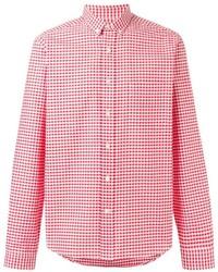 Gingham check shirt medium 755565