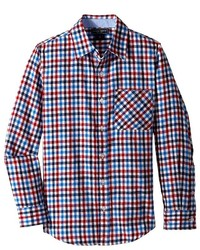 Toobydoo Happy Checks Flannel Shirt