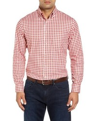 Kennedy regular fit gingham sport shirt medium 834162