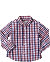 Urban Sunday Button Down Shirt Redbluewhite 18m