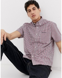 Ben Sherman Short Sleeved Gingham Shirt