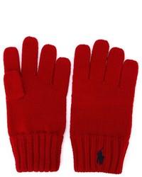 Ralph Lauren Kids Knitted Gloves