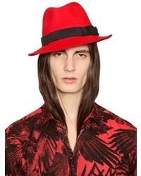 Diesel Wool Fedora Hat