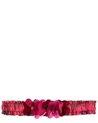 Kate Mack Biscotti Red Rose Print Headband