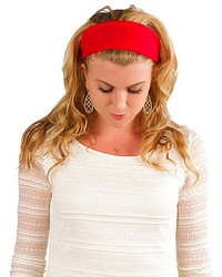 Elizabeth Koh Red Cotton Headband