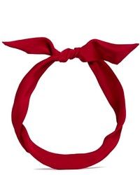 Yunotme By Gloria Yu Fork Silk Working Girl Knot Headband
