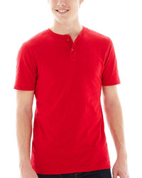 Red Henley Shirt