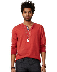 Denim & Supply Ralph Lauren Flag Placket Henley