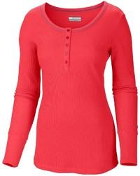 Columbia Sportswear Weekday Waffle Ii Henley Shirt Omni Wick Long Sleeve