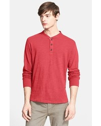 rag & bone Standard Issue Slub Cotton Henley