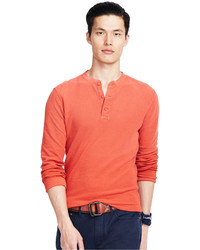 Polo Ralph Lauren Textured Cotton Henley