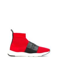 Balmain Branded Sneaker Boots