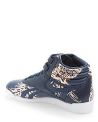 3099cddad7373 ... Reebok Freestyle Hi Graphics High Top Sneaker ...