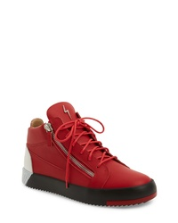 Giuseppe Zanotti Tricolor Sneaker