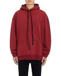 Ben Taverniti Unravel Project Embroidered Cotton Oversized Hoodie