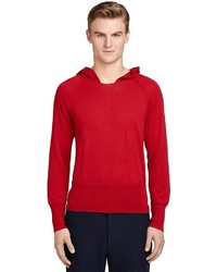 Brooks Brothers Hooded Sweater